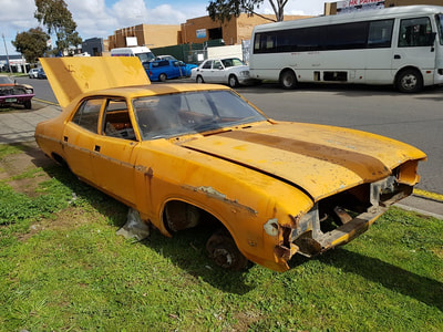 Curly Wrecking Fords List Of Cars Undergoing For Spare Parts Rusty Ford Wreckers