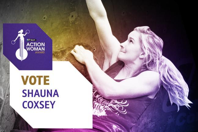 Shuna Coxsey Nominated for BT Acion Woman Award