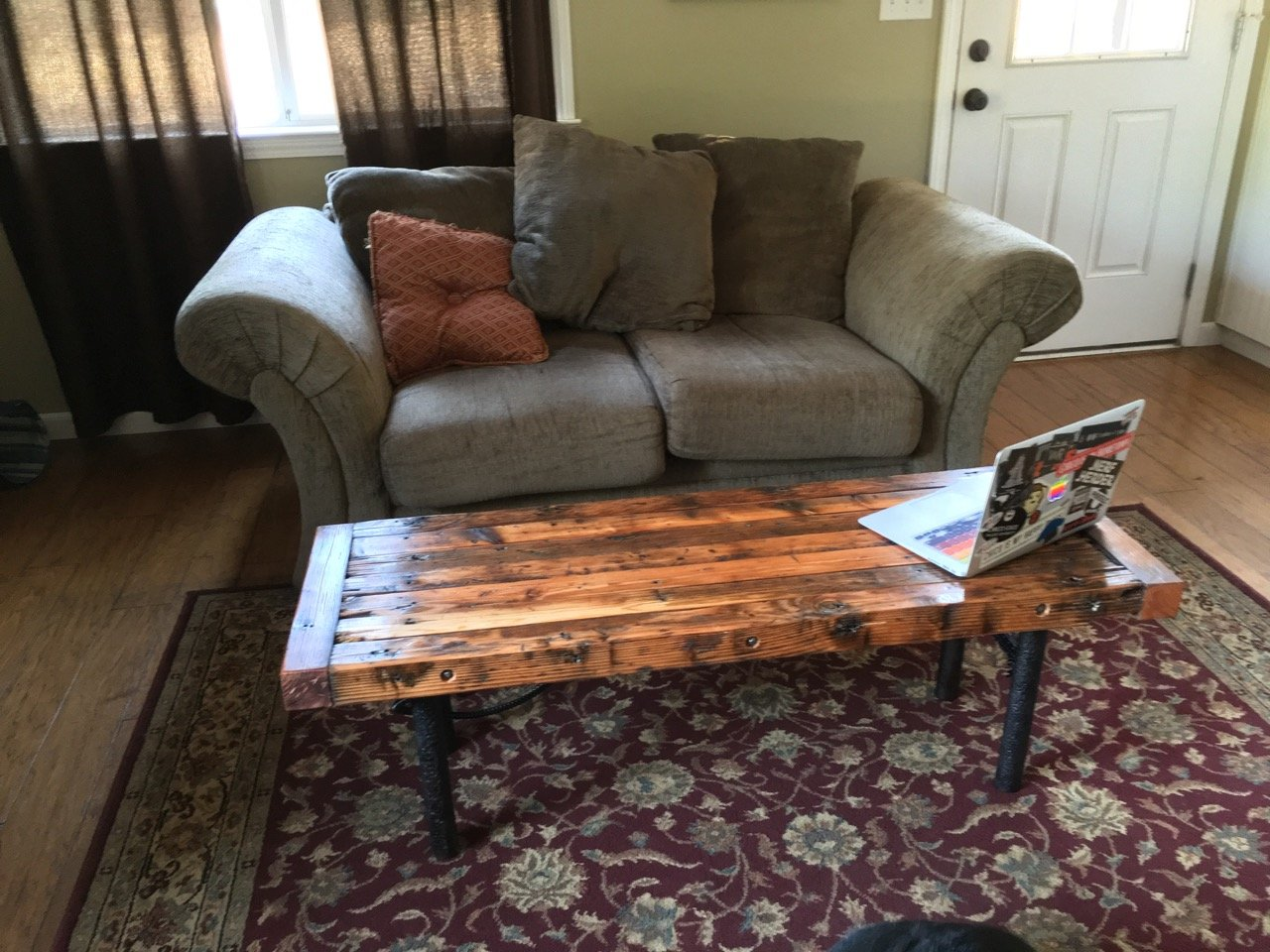 """75 Cycles"" Farmpunk Coffee Table"