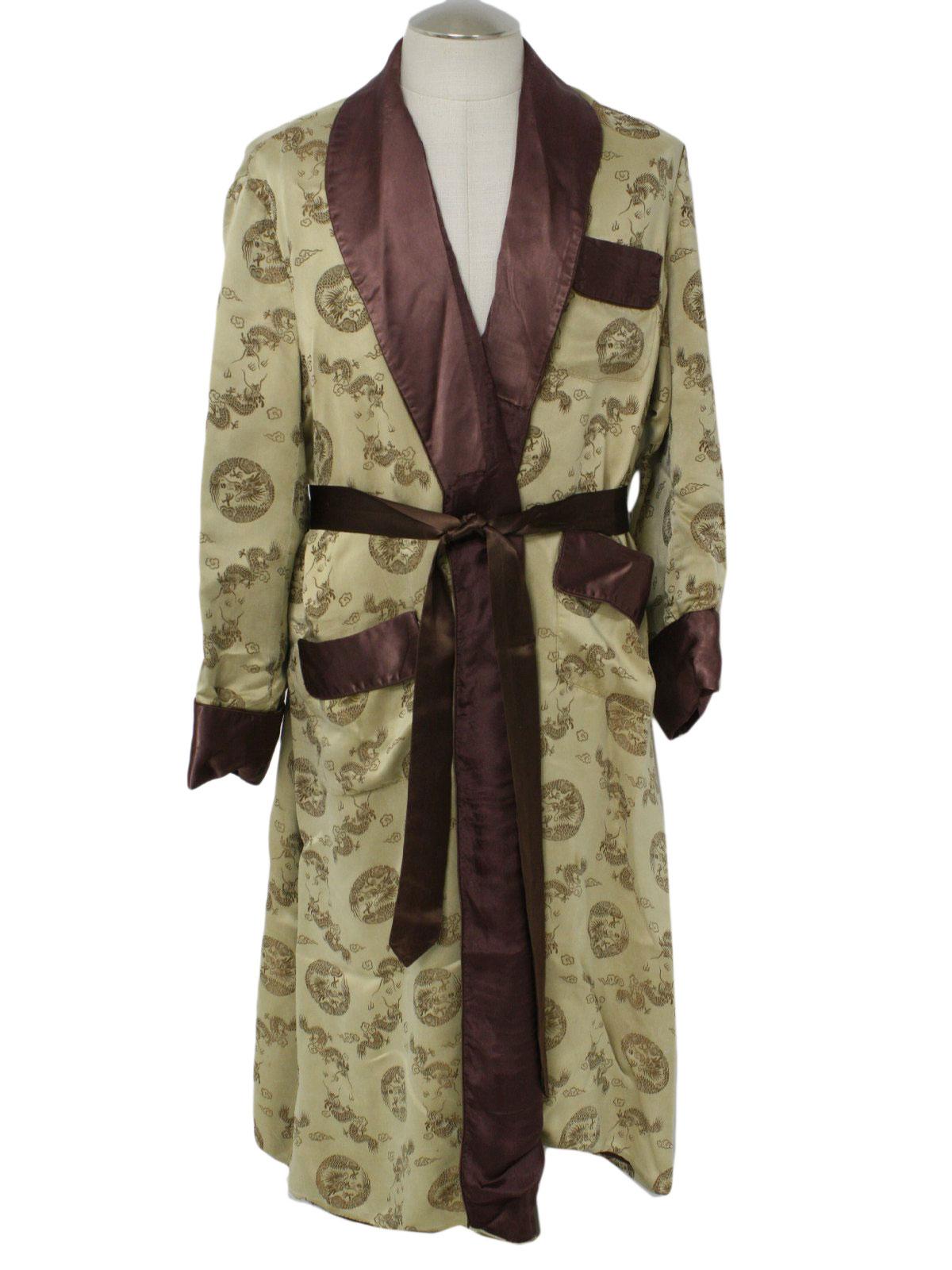 Zip Front Robes For Men