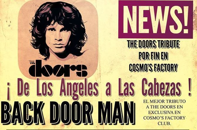Homenaje a The Doors en Sevilla