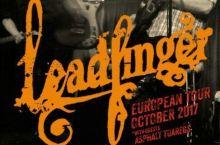 Comienza la gira de Leadfinger por España