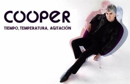 Cooper – Tiempo. Temperatura, Agitación (Elefant)