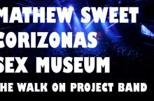 Octava edición del WOP Festival: Matthew Sweet, Sex Museum, Corizonas y The WOP Band