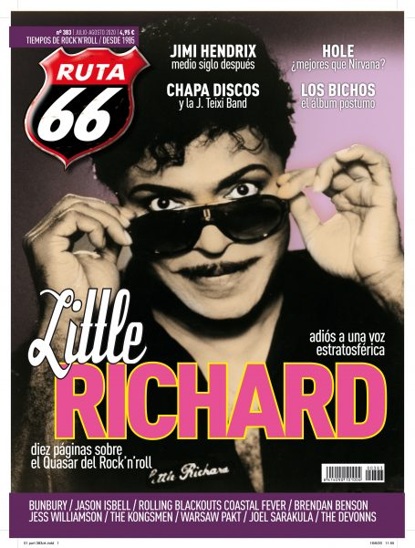 Ruta 66 julio – agosto' 20 / Little Richard, Hole, Jimi Hendrix ...