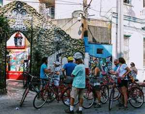 zentrum bike tour-havana centre hamel alley
