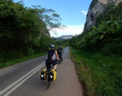 cycling in viñales
