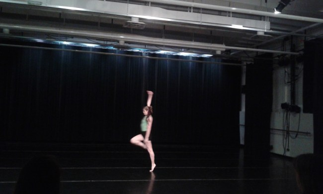 """Haley Jean Race performing her solo """"You Are the Earth."""""""