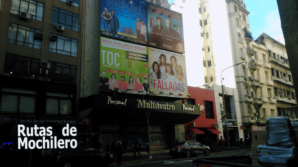 Buenos Aires, Avenida Corrientes