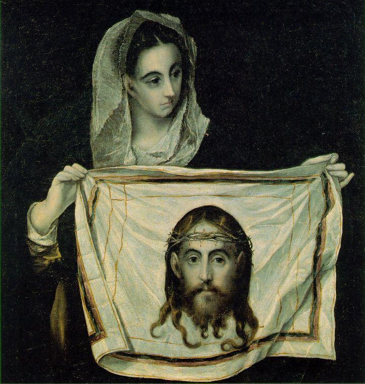 Verónica, El Greco