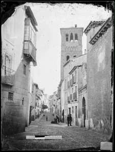 Santo Tomé por Casiano Alguacil. Archivo Municipal de Toledo