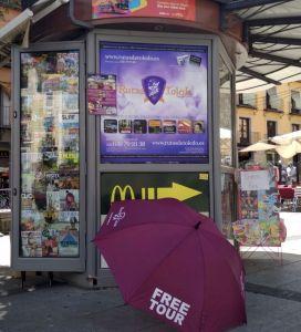 Paraguas Rutas de Toledo, Free Tour 2018
