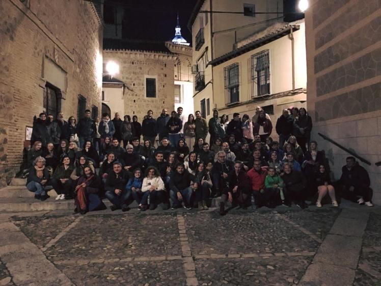 Toledo siniestro, dos grupos