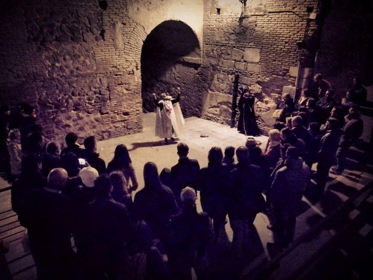 Teatro en la Ruta Templarios y Leyendas de Misterio en Toledo