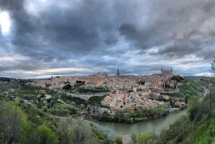 Panorámica de Toledo desde El Valle
