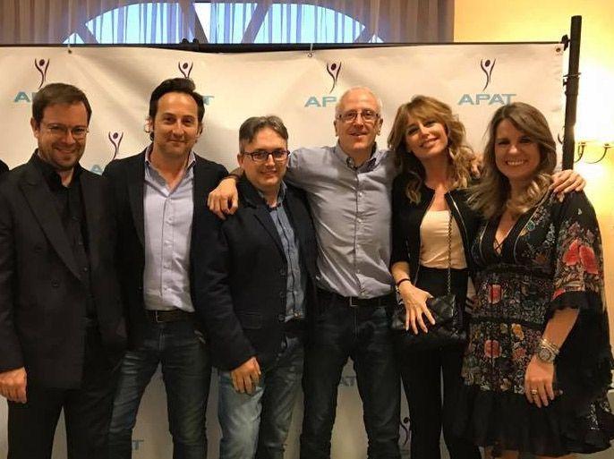 Javier Sierra, Iker Jiménez, Emma García y Carmen Porter con Rutas de Toledo