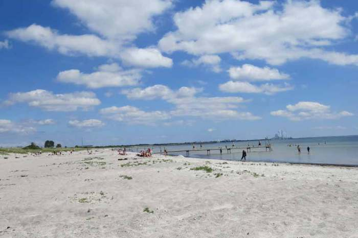 Viajes en bici por Europa Playas del Báltico
