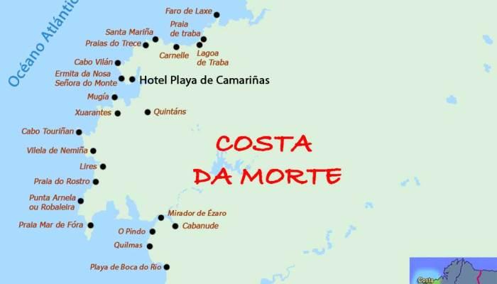 Costa da Morte en Bici Rutas Pangea