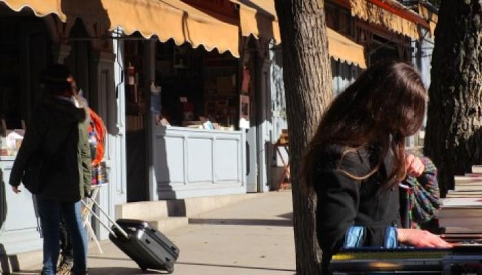 Cuesta de Moyano, Madrid en bici.