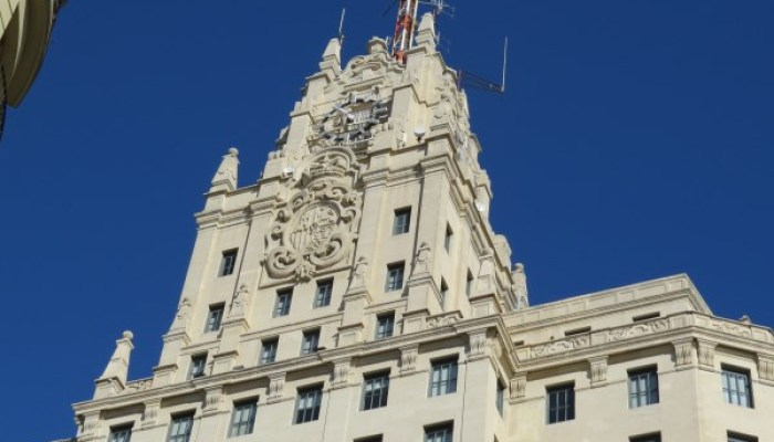 Primer rascacielos de Madrid el edificio Telefonica