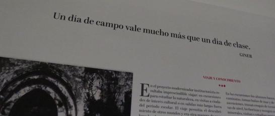 Exposición: Giner, el Maestro de la España Moderna