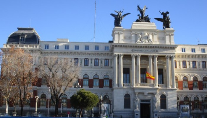 Ministerio de Agricultura en Madrid
