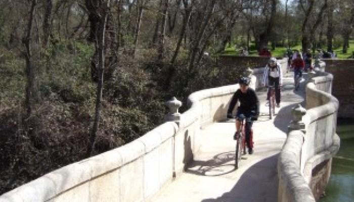 Puente de la Culebra. Madrid en Bici.