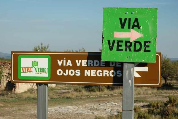 Via Verde Ojos Negros