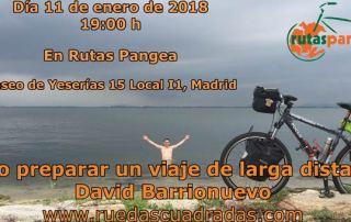 Charla David Barrionuevo en Rutas ^Pangea