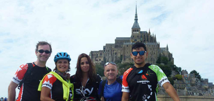 Mont Saint Michel en bici