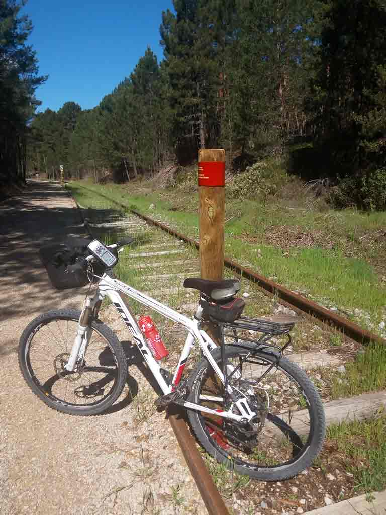 Vias Verdes en bicicleta