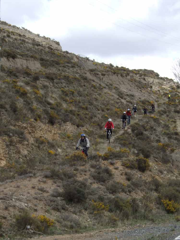 en bici por el Sistema Iberico