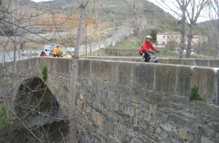 cicloturismo por el Sistema Iberico