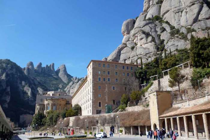 Camí de Sant Jaume Llegando a Montserrat