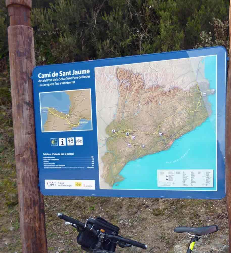 Camí de Sant Jaume en bicicleta