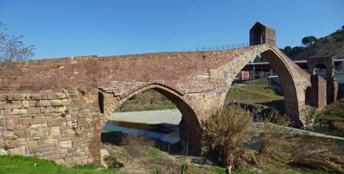 Puente del Diablo en Martorell Camí de Sant Jaume