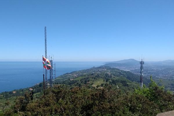 Vistas de Igeldo y San Sebastián desde Mendizorrotz