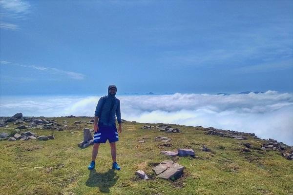 Mar de nubes desde el monte Auza