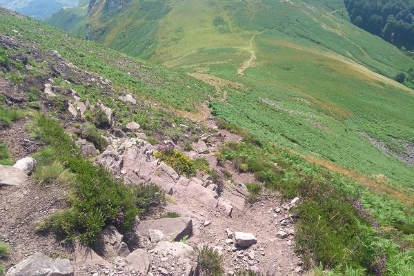 Descenso picado de Buztanzelai