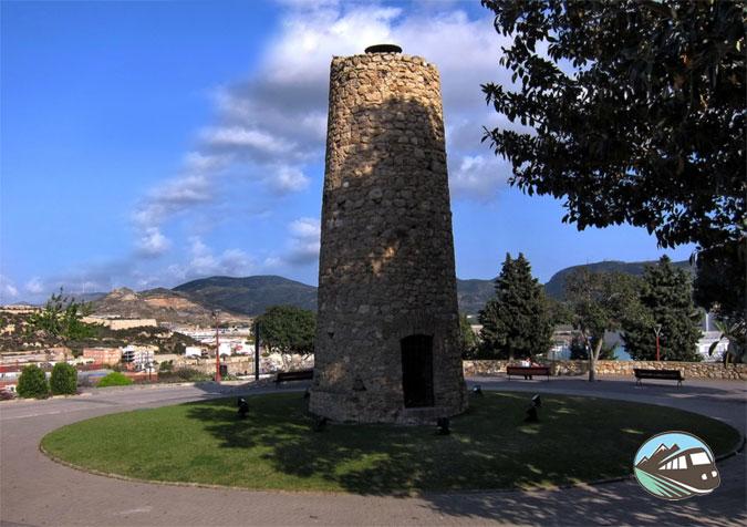 Castillo de la Concepción en Cartagena