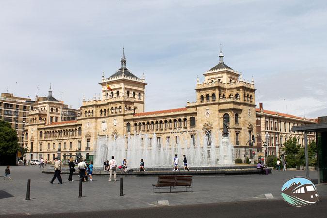 Paseo Zorrilla de Valladolid