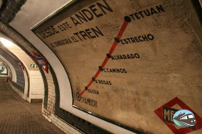 Estación de Chamberí – Madrid