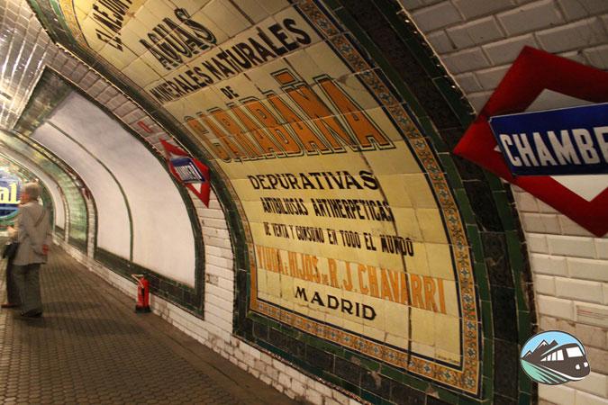 Estación de Chamberí - Madrid