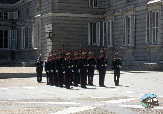 Cambio de guardia – Madrid