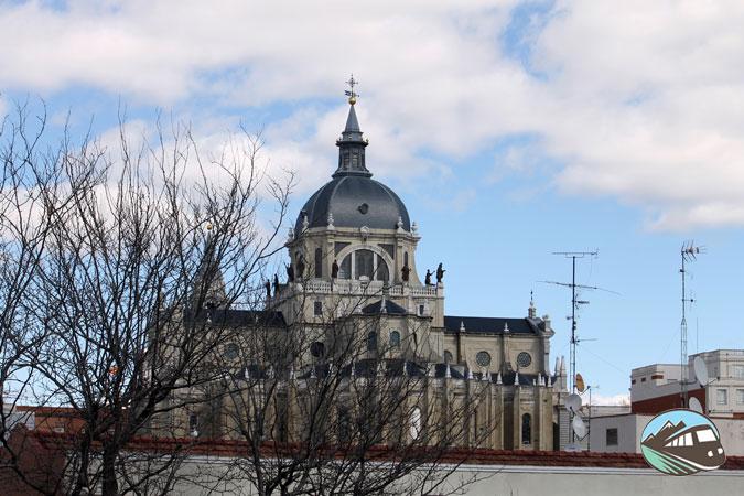 Panorámica desde el mirador de las Vistillas - Madrid
