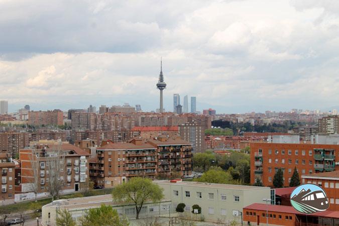 Panorámica desde el Cerro de Tío Pío – Madrid