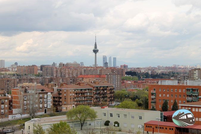 Panorámica desde el Cerro de Tío Pío - Madrid