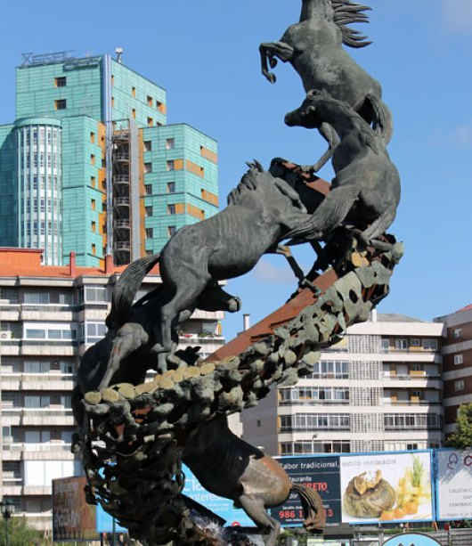 Os Cabalos en Vigo