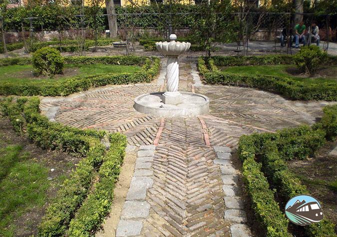 Jardín del Principe de Anglona - Madrid