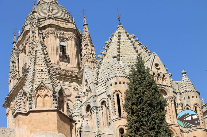 Subida a la Catedral de Salamanca